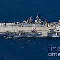 Amphibious Assault Ship Uss Bonhomme by Stocktrek Images