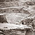 Amphitheater In Petra by Alexey Stiop