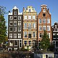 Amsterdam - Old Houses At The Herengracht by Olaf Schulz