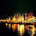 Amsterdam At Night Three by John Malone