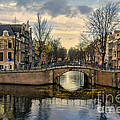Amsterdam Bridges by Ann Garrett