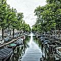 Amsterdam Canal by Allen Hall