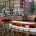 Amsterdam Canal And Houses by Artur Bogacki