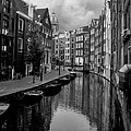 Amsterdam Canal by Heather Applegate