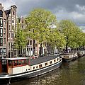 Amsterdam Canal Waterfront by Artur Bogacki