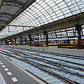 Amsterdam Central Station by Tracy Winter