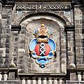 Amsterdam Coat Of Arms On Westerkerk Tower by Artur Bogacki