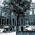 Amsterdam Electric Car by Cheryl Miller