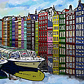 Amsterdam Holland by James  Mingo