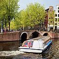 Amsterdam In Spring by Artur Bogacki
