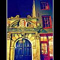 Amsterdam Postcard by John Malone