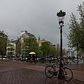 Amsterdam - The Yellow Umbrella by Georgia Mizuleva