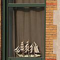 Amsterdam Window  #6 by J L Woody Wooden