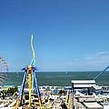 Amusement Park View by Dan Sproul