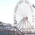 Amusement Rides At Wildwood Nj by Eric  Schiabor