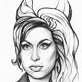 Amy Winehouse by Olga Shvartsur