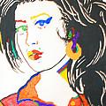 Amy Winehouse by Stormm Bradshaw