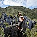 An Adventure Tourist Admires The Unique by Christopher Beauchamp
