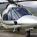 An Agustawestland A109 Power Elite by Luca Nicolotti