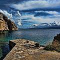 An Ancient Port by Kon Tzou