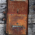 An Antique Mailbox by Phyllis Denton