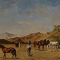 An Arabian Camp by Eugene Fromentin