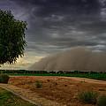 An Arizona Dust Storm  by Saija  Lehtonen