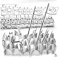 An Army Lines Up For Battle by Paul Noth
