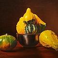 An Arrangement Of Gourds by Gary  Hernandez