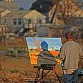 An Artist At Work by Karol Livote