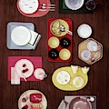 An Assortment Of Dinnerware by Tom Yee