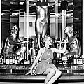Sexy Woman On The Bar by Underwood Archives