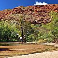 An Australian Outback River by Paul Svensen