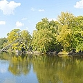 An Autumn Day Panoramic by Bonfire Photography