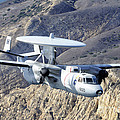 An E-2c Hawkeye Aircraft Flies by Stocktrek Images