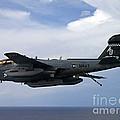 An Ea-6b Prowle In Flight by Stocktrek Images