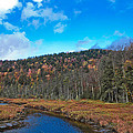 An Early Fall Day At Cary Lake by David Patterson