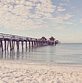 An Early Morning - Naples Pier by Kim Hojnacki