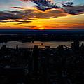 An Empire Sunset by Digital Kulprits