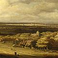 An Extensive Landscape by Philips Koninck