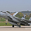 An F-15a Baz Of The Israeli Air Force by Ofer Zidon
