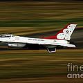 An F-16 Thunderbird Of The U.s. Air by Stocktrek Images