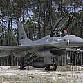An F-16a Fighting Falcon by Timm Ziegenthaler