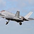 An F-35a Taking Off From Eglin Air by Riccardo Niccoli