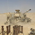 An Israel Defense Force Artillery Corps by Ofer Zidon