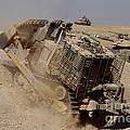 An Israel Defense Force Caterpillar D-9 by Ofer Zidon