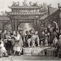 An Itinerant Chinese Doctor At by Mary Evans Picture Library