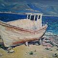 An Old Boat by Darya Kanibolotska