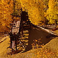 An Old Colorado Mine In Autumn by Jeff Swan