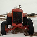 An Old Dase Tractor by Jeff Swan